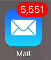 5,551 emails